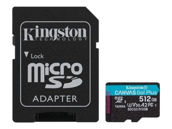 512Gt microSDXC